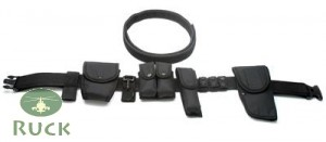 Tactical-Koppel-Set, US schwarz