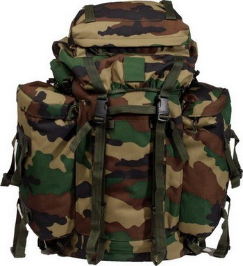 Rucksack, US Mountain Import woodland neu
