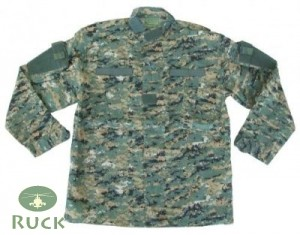 ACU Feldjacke, US digital-woodland-tarn