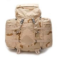 Rucksack, US Mountain Import 3-Fb. desert neu